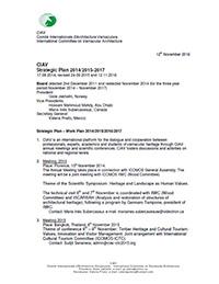 CIAV Strategic Plan 2017/2015-2027
